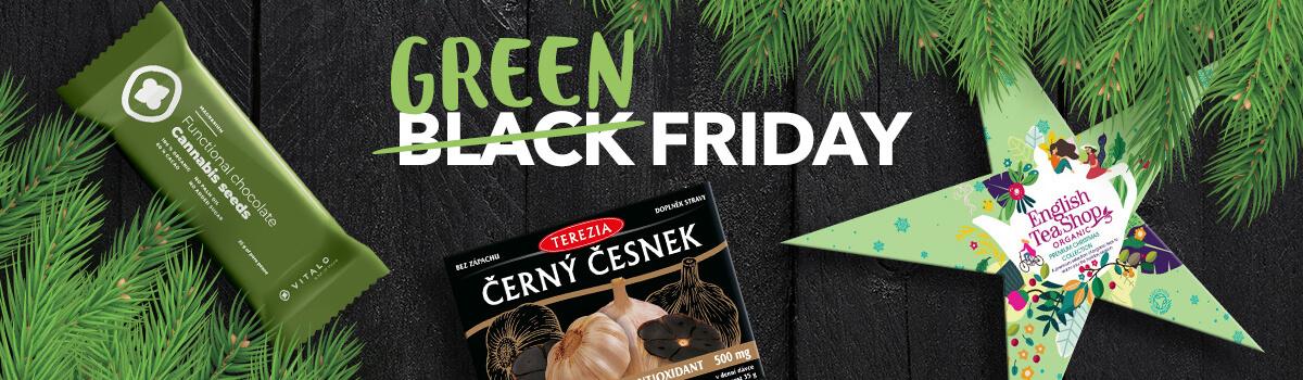 Green Black friday - slevy až 70 %