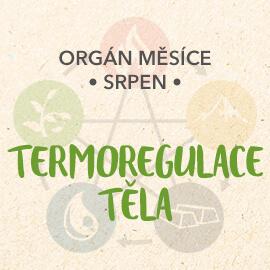 Orgán měsíce srpen - Termoregulace těla