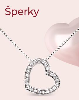Dárky k valentýnu - šperky