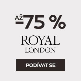 Hodinky Royal London se slevou až -75 %