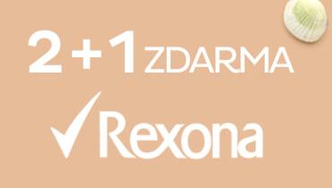 Rexona 2+1 zdarma