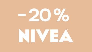 Nivea -20 %