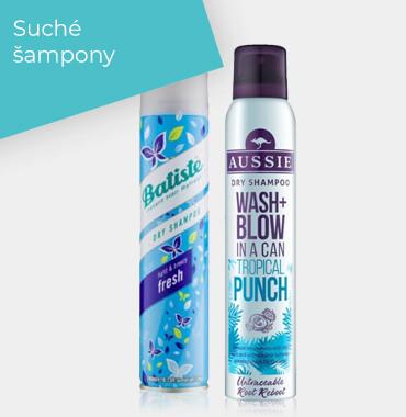 Suché šampony
