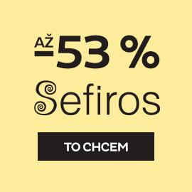 Sefiros až -53 %