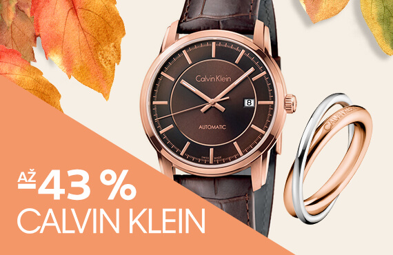 Calvin Klein až - 43 %