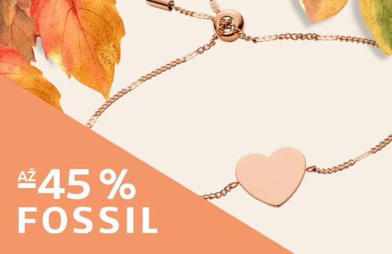 Šperky Fossil až - 45 %