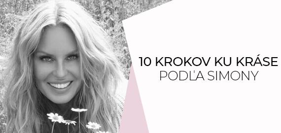 10 krokov ku kráse podľa Simony