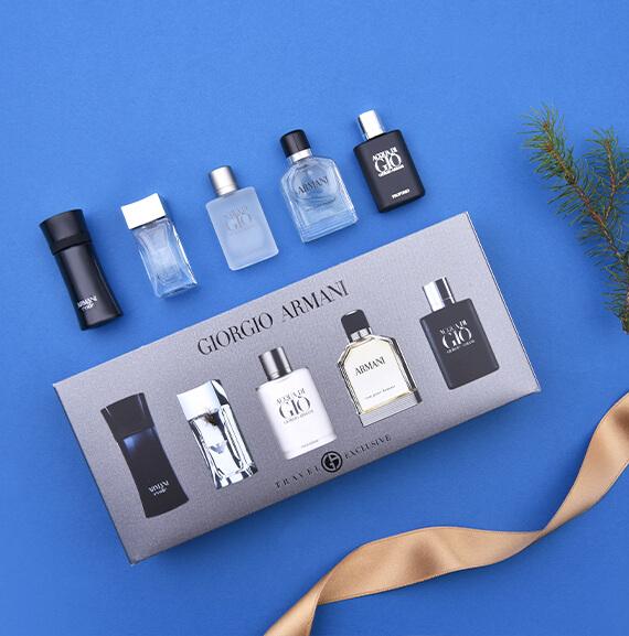 Pánské mini sady parfémů