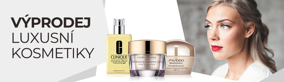 Výprodej luxusní kosmetiky