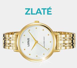 Zlaté hodinky ve výprodeji