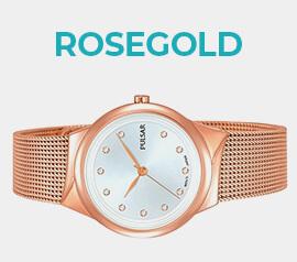 Rosegold hodinky ve výprodeji