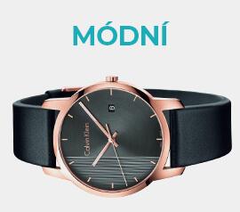 Módní hodinky ve výprodeji