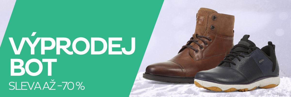 Pánské boty výprodej