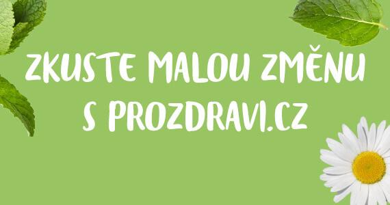 Malá změna s Prozdravi.cz