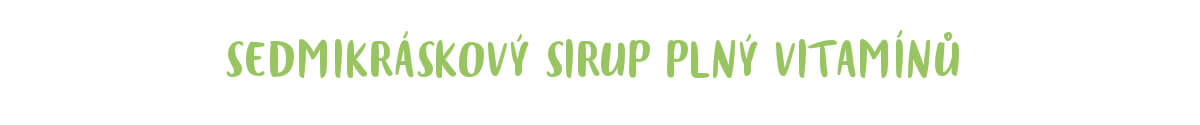 Sedmikráskový sirup recept