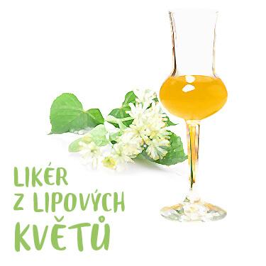 Recept likér z lipových květů