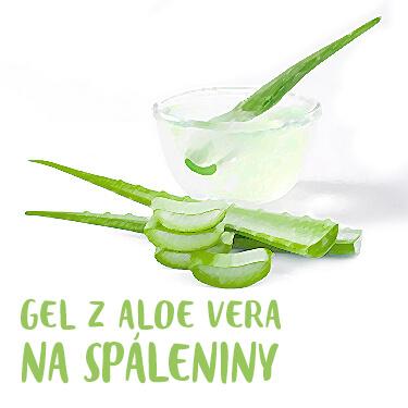 Hojivý gel z Aloe vera