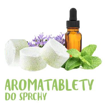 Aromatablety do sprchy