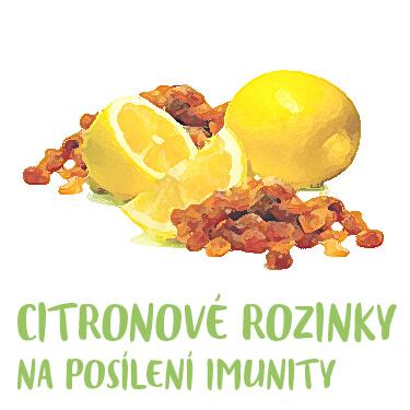 Citronové rozinky pro imunitu