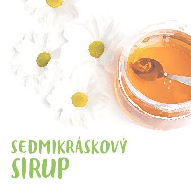 Recept Sedmikráskový sirup