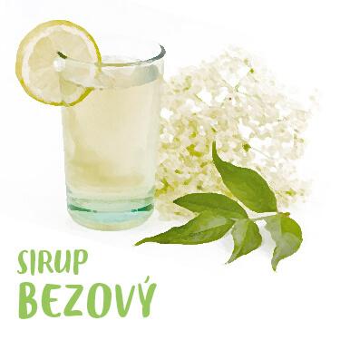 Recept Bezový sirup