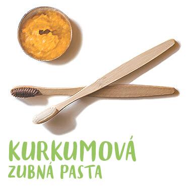 Kurkumová zubná pasta