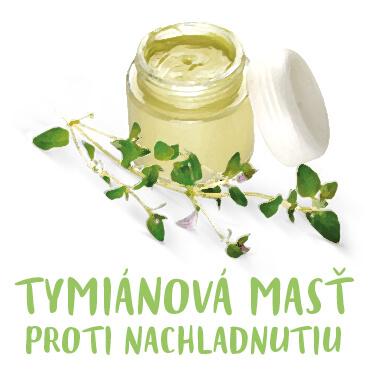Recept tymiánová masť na prechladnutie