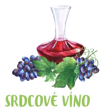 Srdcové víno