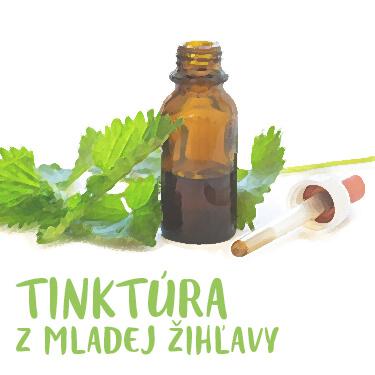 Recept Tinktura z mladých žihlav