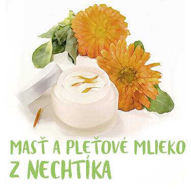 Návod Nechtíková masť a pleťové mlieko
