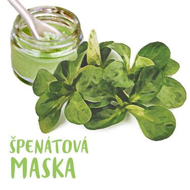 Recept Špenátová maska pre zářivú pleť