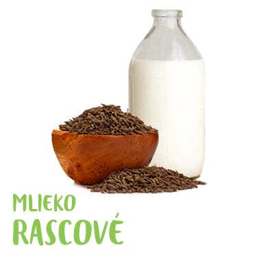 Rascové mlieko na zažívanie