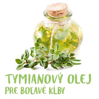 Návod Tymianový olej pre boľavé kĺby
