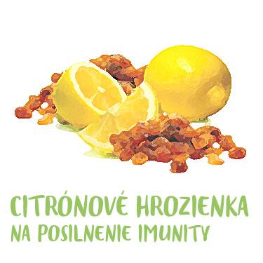 Recept citronové hrozirnka