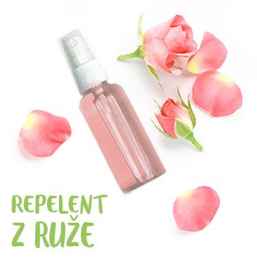 Repelent z ruže