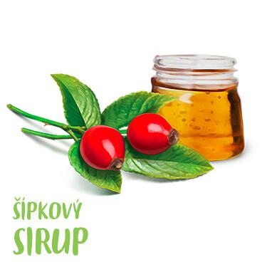 Šípkový sirup - recept