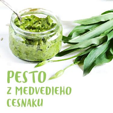 Recept Pesto z medvedieho cesnaku