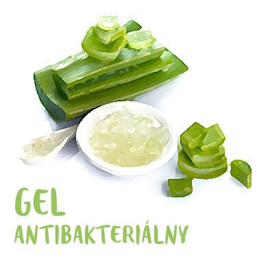 Recept Antibakteriálny gel