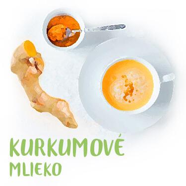 Kurkumové mlieko