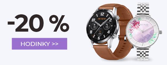 Hodinky -20 %