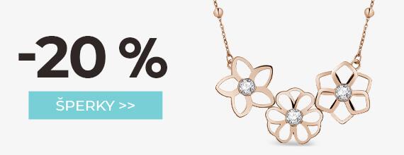 Šperky -20 %
