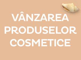 Vanzarea produselor cosmetice