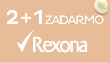 Rexona 2+1 zadarmo