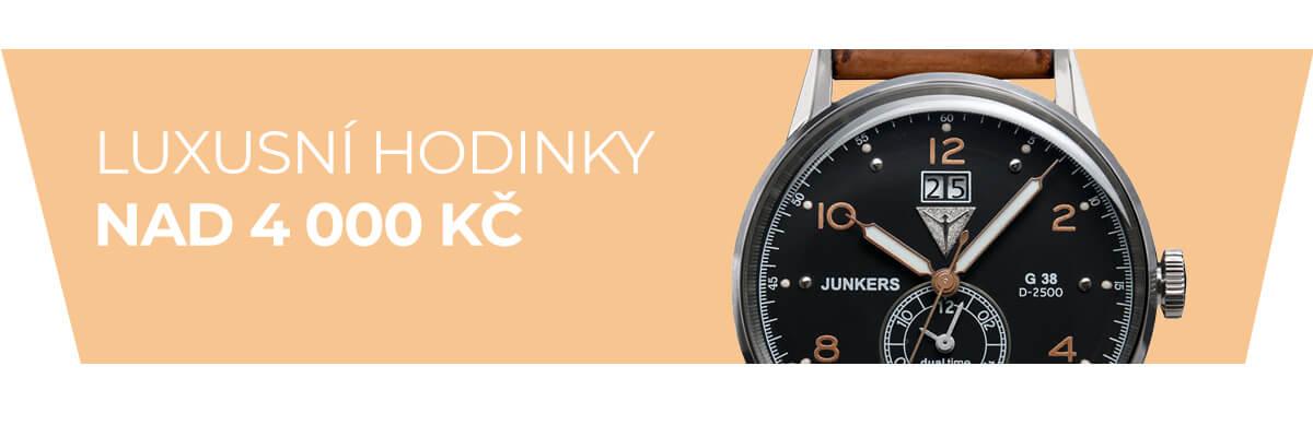 Luxusní hodinky nad 4 000 Kč