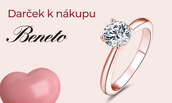 Darček k nákupu šperkov Beneto