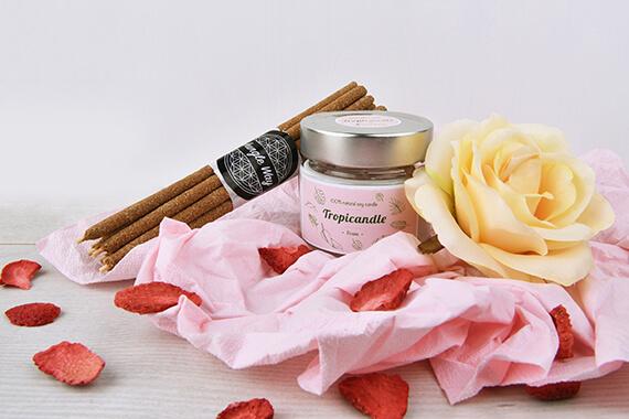 Svíčky a aromaterapie k Valentýnu