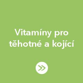 Vitamíny pro těhotné a kojící