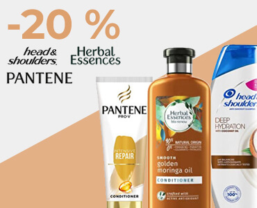 Vlasová kozmetika - Pantene, Head and Shoulders, Herbal Essence