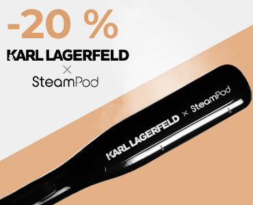 Parní žehlička na vlasy KARL LAGERFELD