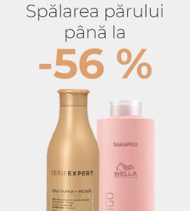 Spălarea părului până la -56 %